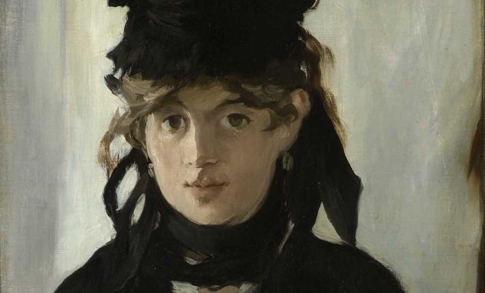 Berthe Morisot door Edouard Manet