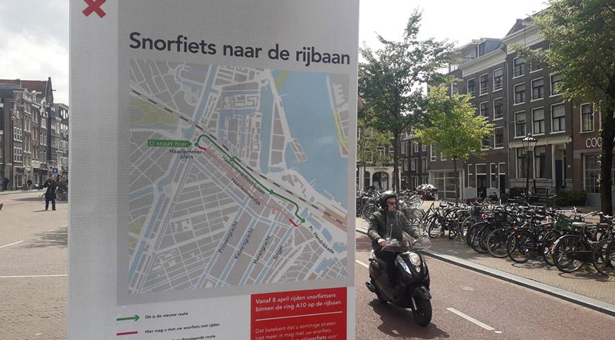 Deze week in Amsterdam: handhaving scooters op de rijbaan, Pinksterweekend en winactie!