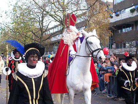 Intocht van Sinterklaas in Amsterdam