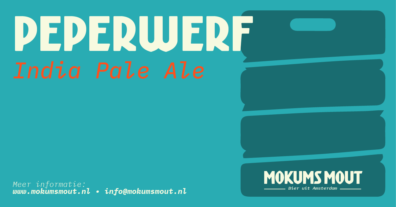 Mokums Mout Label Peperwerf