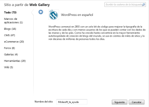 WebMatrix3 Windows 8
