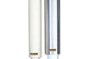 Dispensador a pared para vasos de Foam, Poliestireno expandido, de 597 mm.