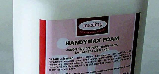 Jabón liquido hidratante espuma.