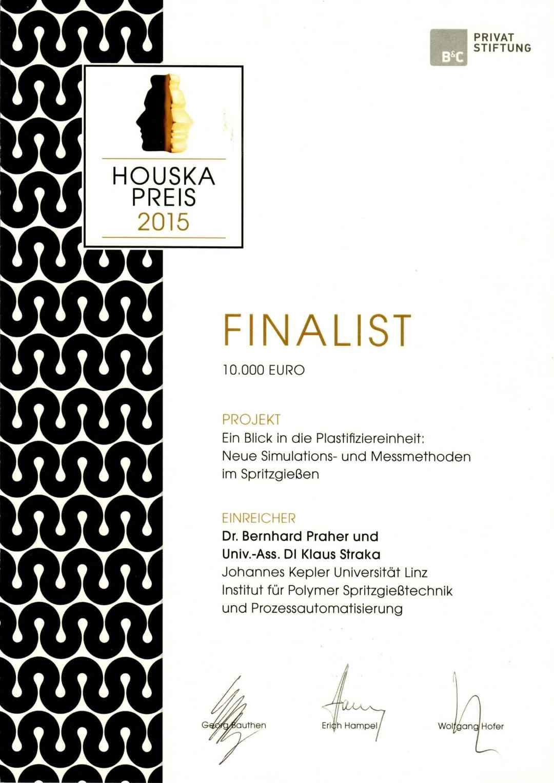 Urkunde Houska 2015 scaled Moldsonics edison