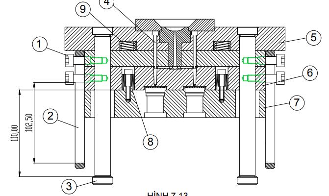 [ TÀI LIỆU KHUÔN MẪU ] Chia sẽ đồ án thiết kế khuôn mẫu ĐHCN