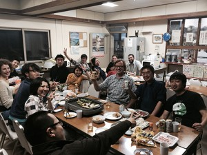 All the students and faculty based at the Akkeshi Marine Station