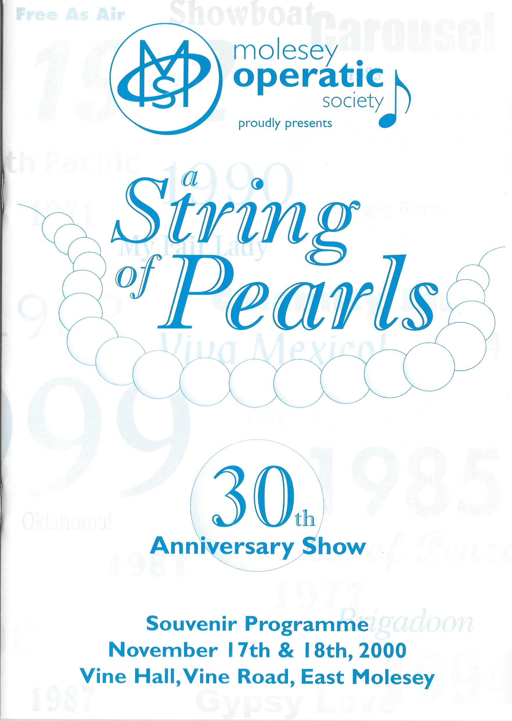 String of Pearls 1
