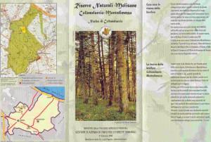 Locandina della riserva di Collemeluccio