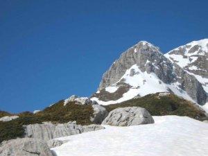 Monte Meta nei pressi di Passo dei Monaci