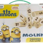 Mölkky version Minions : photo du packaging officiel