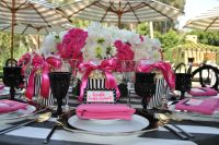 Black And Pink Table Settings & 247 Best Beautiful Table ...