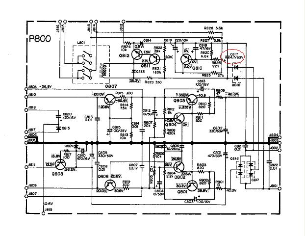 Electrolytic Capacitor Wiring Diagram, Electrolytic, Free