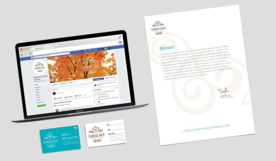 Equibalance Farrier Services - MC Creative Logo Design - Collateral Detail