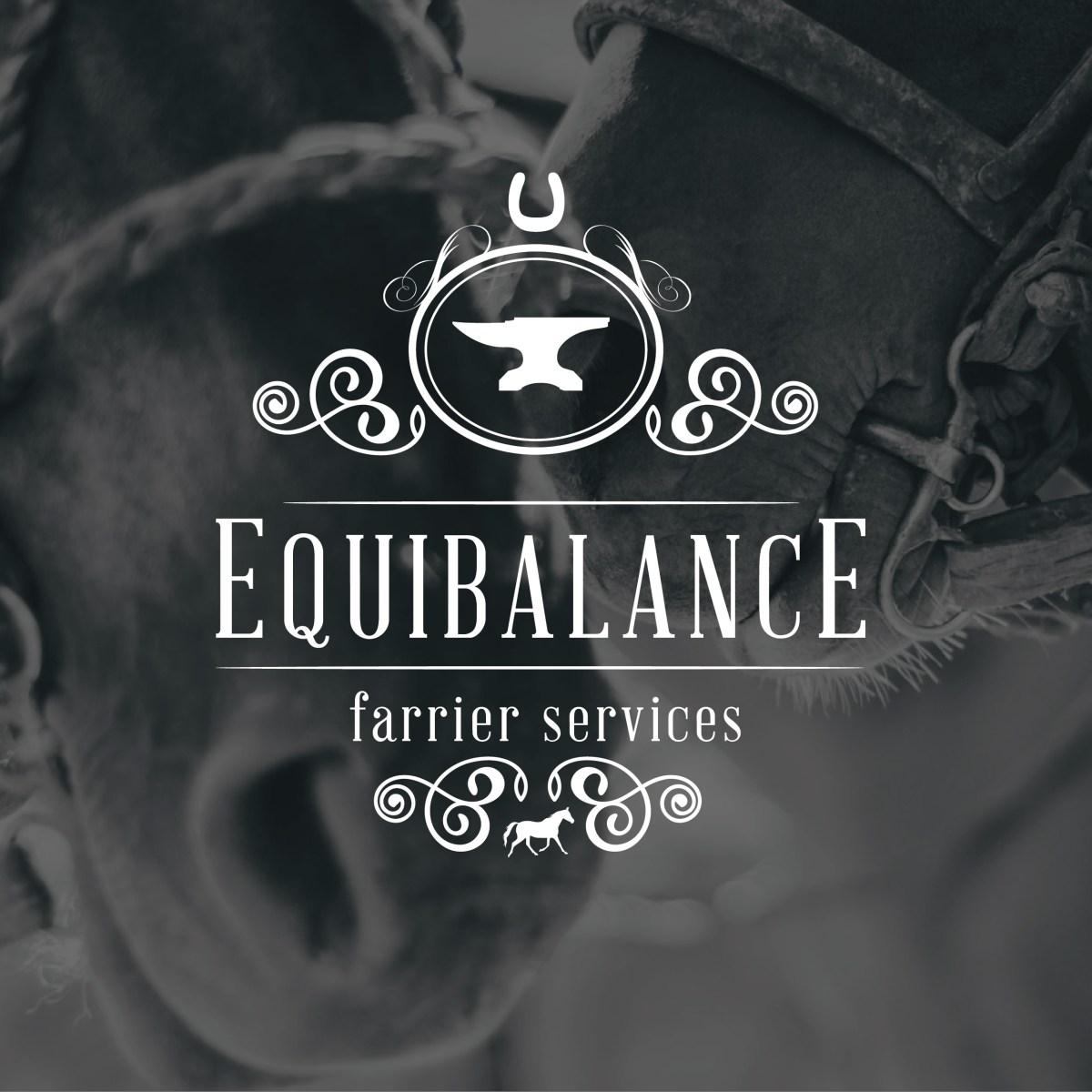 Equibalance Farrier Services - MC Creative Logo Design