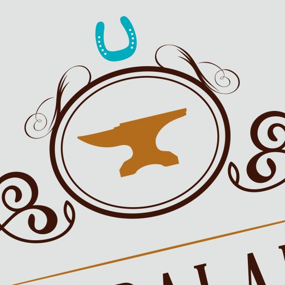 Equibalance Farrier Services - MC Creative Logo Design - Logo Detail