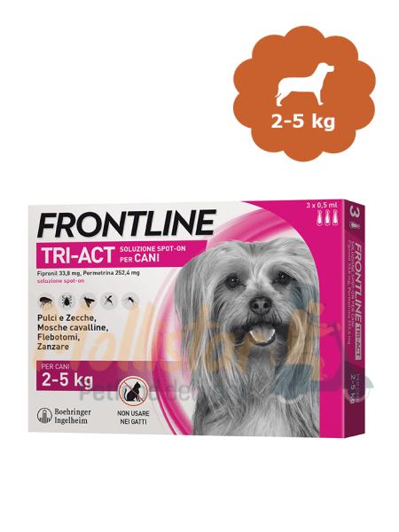 Frontline Tri Act 5-10kg rosa