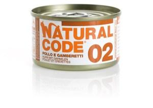 Natural Code 02 Pollo e Gamberetti • 0,85g