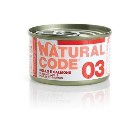 Natural Code 03 Pollo e Salmone • 0,85g