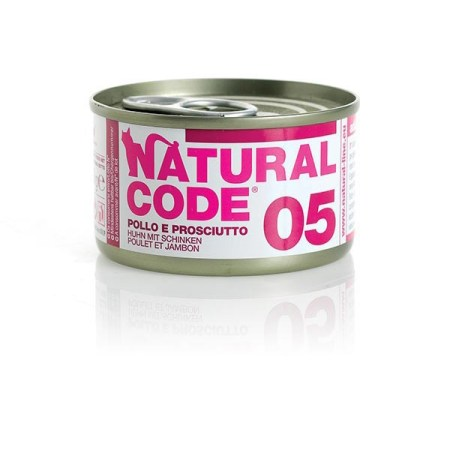 Natural Code 05 Pollo e Prosciutto• 0,85g
