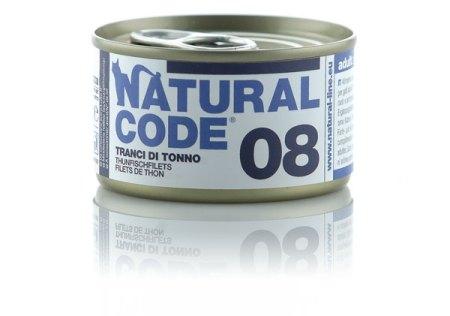 Natural Code 08 Tranci di Tonno• 0,85g