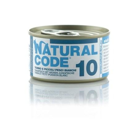 Natural Code 10 Tonno e Piccoli Pesci Bianchi• 0,85g
