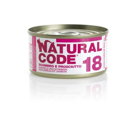 Natural Code 18 Sgombro e Prosciutto• 0,85g