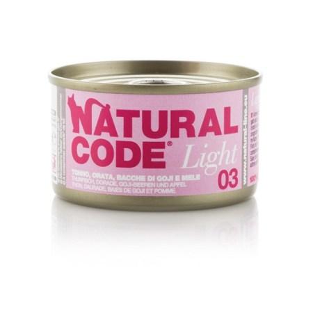 Natural Code Light 03 Tonno, Orata, Bacche di Goji e Mela• 0,85g
