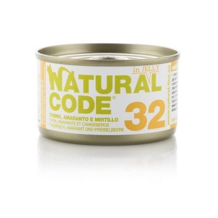 Natural Code 32 Tonno, Amaranto e Mirtilli• 0,85g