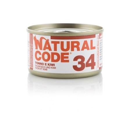 Natural Code 34 Tonno e Kiwi• 0,85g