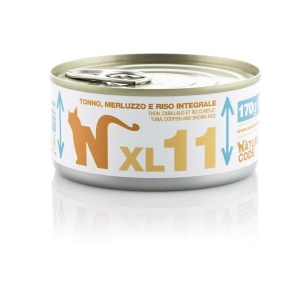 Natural Code XL11 Tonno, Merluzzo e Riso Integrale• 170g