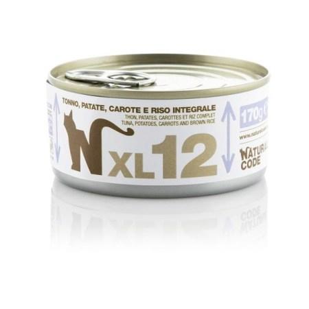 Natural Code XL12 Tonno, Patate, Carote e Riso Integrale• 170g