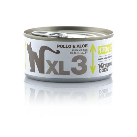 Natural Code XL3 Pollo e Aloe• 170g