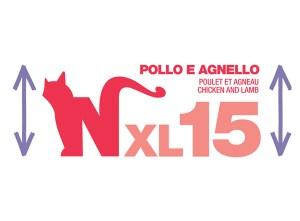 Natural Code XL15 Pollo e Agnello• 170g
