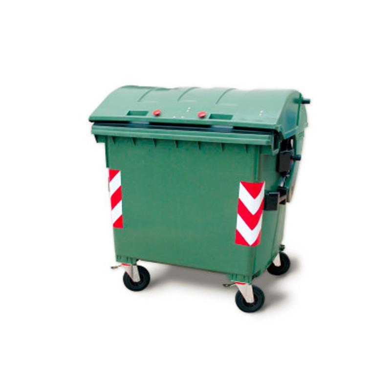 Cassonetto per rifiuti  lt 1100  con coperchio