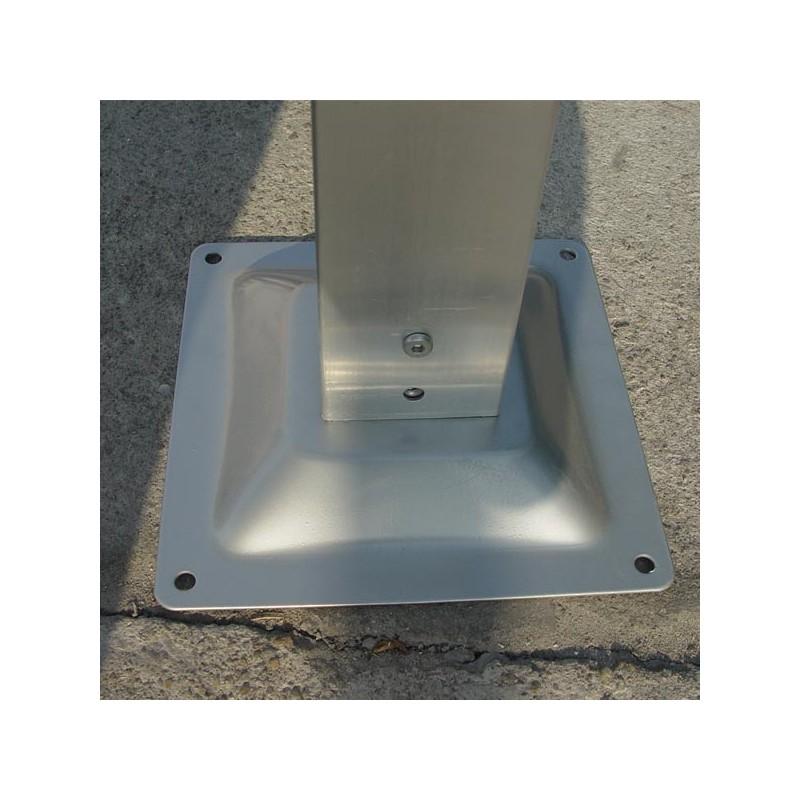 Tettoia in alluminio e policarbonato 485x305x250 h