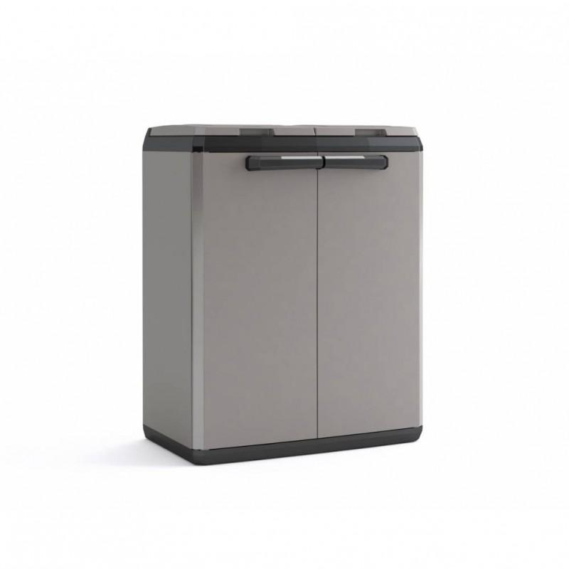 Contenitore per differenziata in plastica 39x68x85 cm