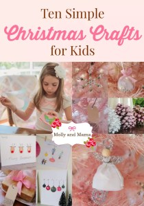 Make these Simple Christmas Crafts with the Kids