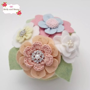 Make a Pretty Posy Pin Cushion