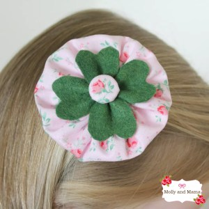 Make a Shamrock Clip for St Patrick's Day