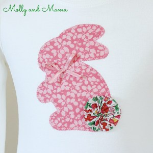 Make an Appliqué Bunny for Easter