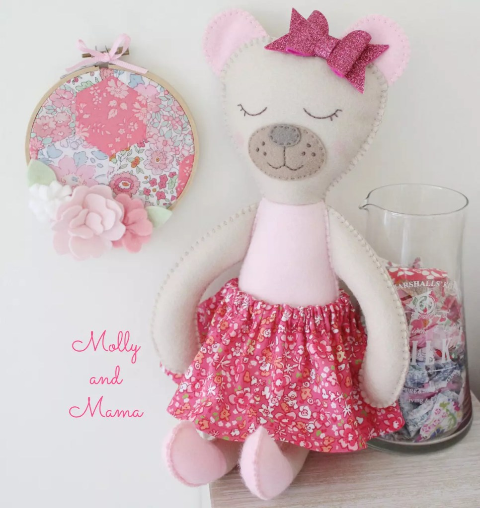 Sew a Bear Softee by Molly and Mama