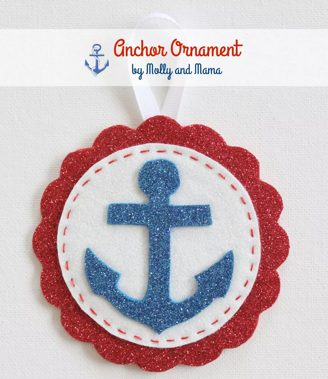 Anchor ornaments - Anchor Ornament Tutorial By Molly And Mama