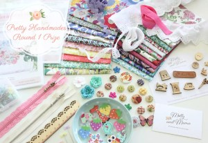 Round 1 of the Pretty Handmades Sew Along