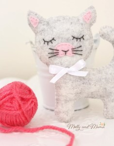 Felt Cat Tutorial – Sew A Softie 2018