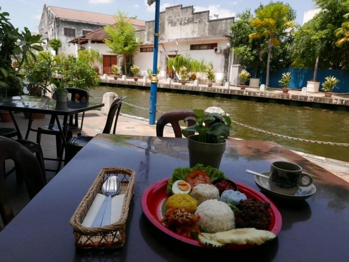 Wild Coriander Restaurant, Riverside dining, Melaka, Malaysia