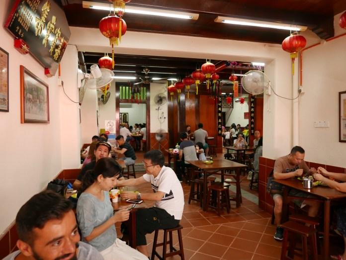 Chicken Rice Balls Restaurant, Jonker Street, Melaka, Malaysia, Hainan