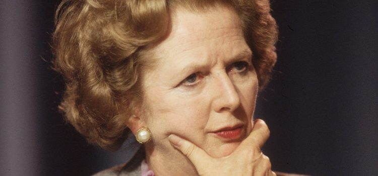 MARGARET THATCHER that bloody woman!