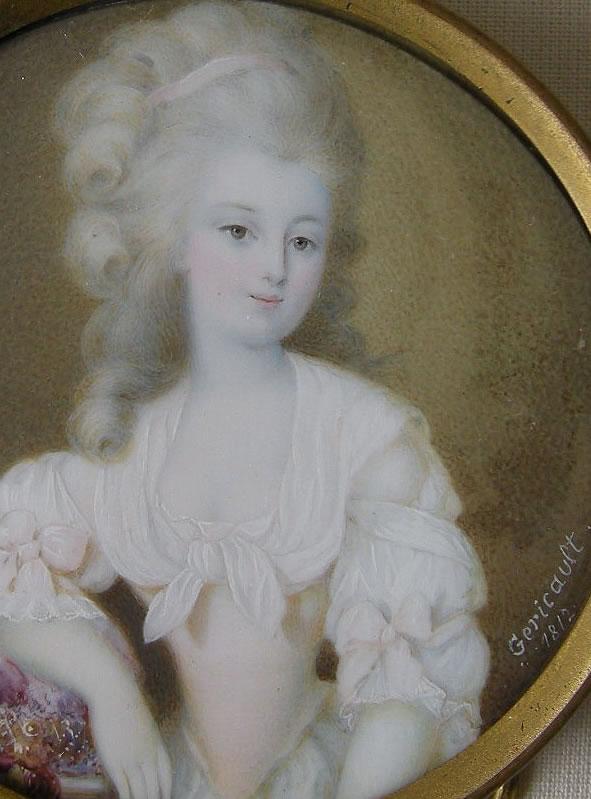 Alexandra Caruel by Géricault