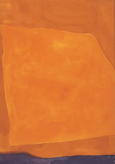 """""""Adriatic,"""" 1968, Helen Frankenthaler"""