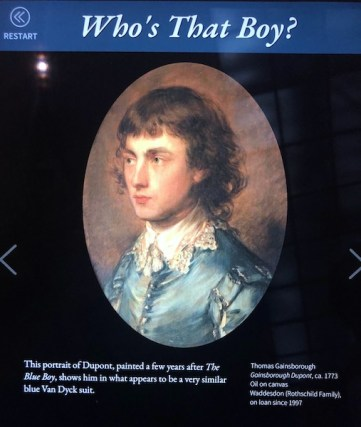 Was Dupont Gainsborough the true Blue Boy?